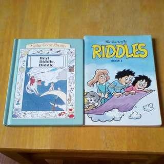 Riddles,Children Story Books