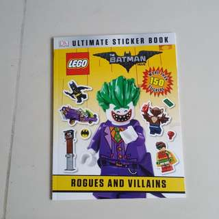 lego Batman Movie sticker book