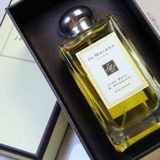 Jo Malone Lime Basil & Mandarin AUTHENTIC in Box & Paper Bag