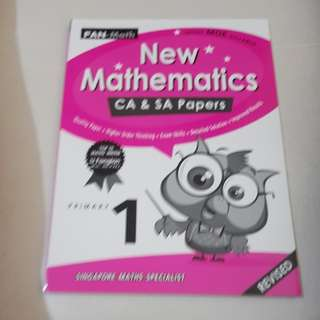 New mathematics CA & SA papers