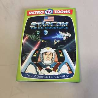 Starcom us 80s cartoon dvd region 1