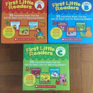 First little readers a b c