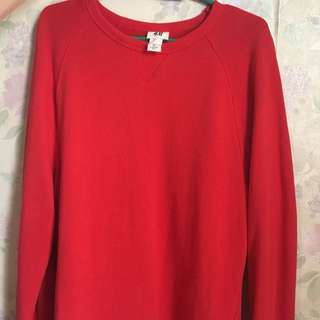 H&M red longsleeves