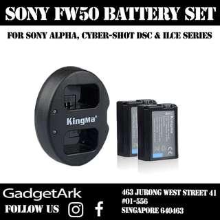 Kingma Sony Camera Battery Set A7 A7S A7ii A7r A6500
