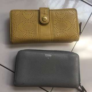 Wallet coach/fossil