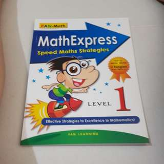 Maths express speed maths strategies level 1