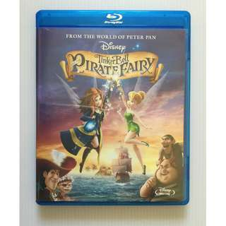 Tinker Bell and the Pirate Fairy Blu Ray