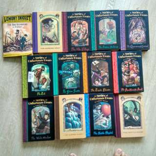 A series of Unfortunate Events (Complete-13 books)