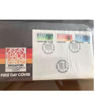 3.10.1980 ASEAN Trade Fair' 80 First Day Cover
