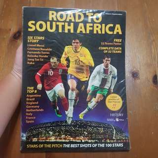 BN Road to South Africa magazine