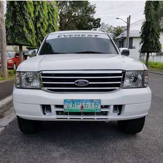Ford Everest 2005 XLT 4x2 Automatic Diesel