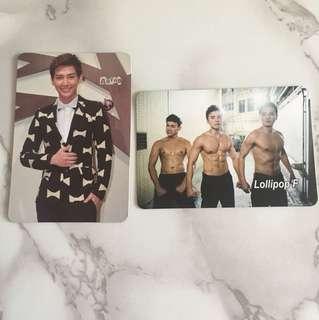 台灣男藝人 Yes card