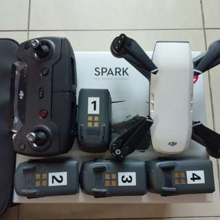 Dji Sprark Fly More Combo