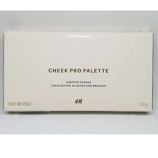 H&M Cheek Palette Limited Edition