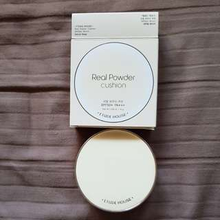 Etude house real powder cushion natural beige