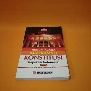 Buku Hukum | Hukum Acara Mahkamah Konstitusi