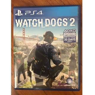 WTS: Pre-Owned Watchdogs 2 (PS4)