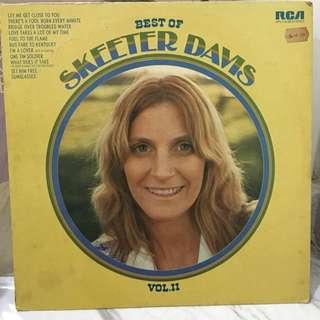 Best of Skeeter Davis vinyl record