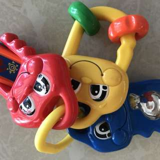 Fisher Price toy key *battery*