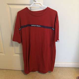 Spencer project red t-shirt