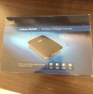 Linksys E1000 wireless-N range extender