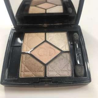 Dior eyeshadow pallet