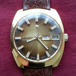 Vintage Automatic ENICAR Watch