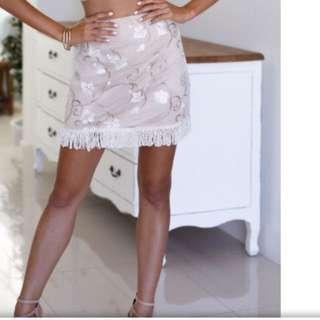 Fringe skirt size 12