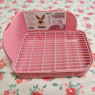 New age pee pan/tray for rabbit, Guinea pig, Chinchilla