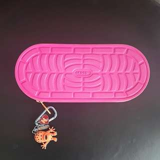 authentic pink crocs pencil case