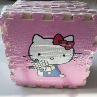 Sanrio Original Hello kitty jigsaw placement mat