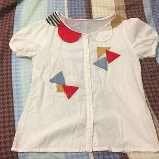 (50元專區)童趣復古襯衫