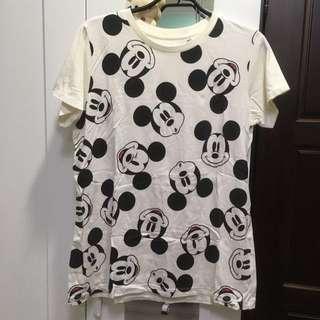 Uniqlo迪士尼聯名童裝米奇T恤
