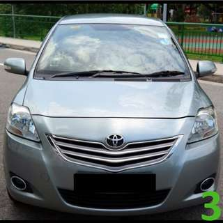 1 Week Contract Toyota Vios @ $360