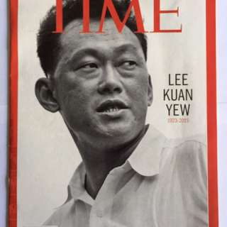 Lee kuan yew times magazine cover 2015