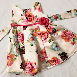 Monsoon satin dress