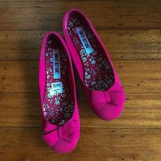 Fuchsia Ballet Flats