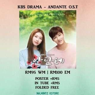 PRE-ORDER KBS DRAMA - ANDANTE O.S.T