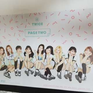 Twice page 2 泰專 poster