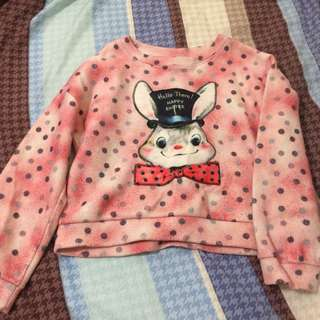 🚚 (50元專區)童趣兔子衣