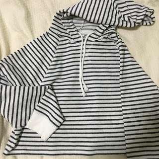 H&M Crop Top Hoody/ jacket