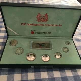 1997 Sterling Silver Proof Coin Set