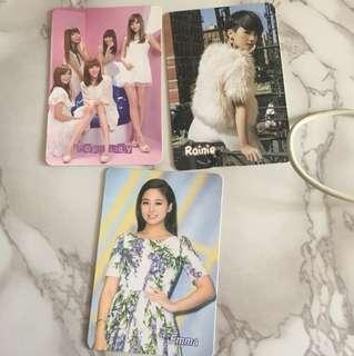台灣女藝人 yes card