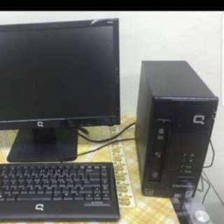 Compaq cq2280 Desktop System For Sale