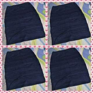 Skirt -Navy Blue