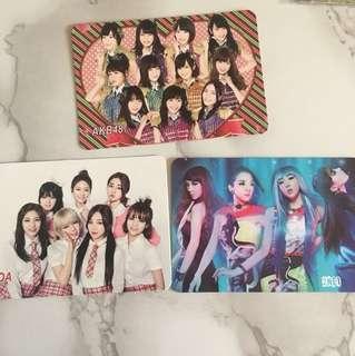 韓國女團 yes card