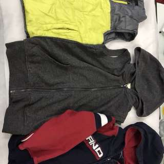 Winter hoodies for 3-4 yrs old Take all