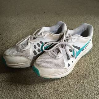 White Nike Sport Shoes