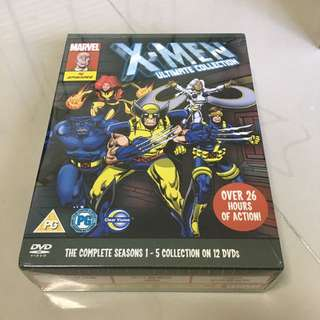 Brand new X-men 90s cartoon complete seasons