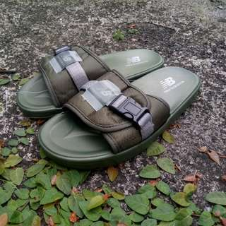 New Balance™ Slides Forest Green